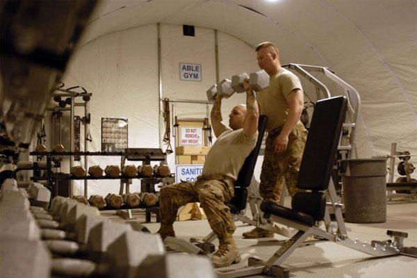 military gym