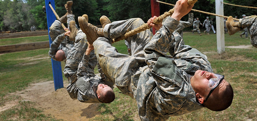 military traning